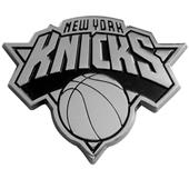 Fan Mats New York Knicks Chrome Vehicle Emblem