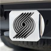 Fan Mats Portland Trail Blazers Chrome Hitch Cover