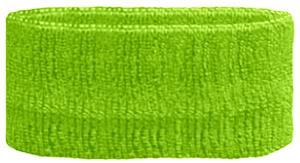 FLUORESCENT GREEN HEADBAND