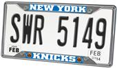 Fan Mats New York Knicks License Plate Frame