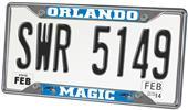 Fan Mats Orlando Magic License Plate Frame