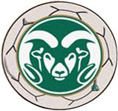 Fan Mats Colorado State University Soccer Ball Mat