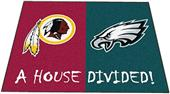 Fan Mats Redskins / Eagles House Divided Mat