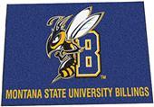 Fan Mats Montana State Univ.- Billings Starter Mat