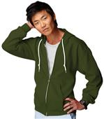 Anvil Men's Ring Spun Fashion Full Zip Hoodies