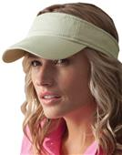 Anvil Solid Low-Profile Twill 3-Panel Visors