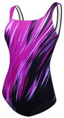 Adoretex Surfire Fitness U-Back Swimsuit