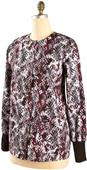 Landau Misses/Women's Spiral Dots Warm-Up Jacket