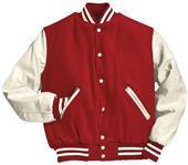 Holloway Award Wool Body / Vinyl Sleeve Jacket
