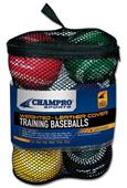 Champro Weighted Team Training Baseballs CBB7S