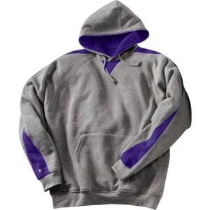 CHARCOAL HEATHER/ATHLETIC PURPLE