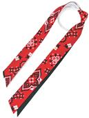 Red Lion Red Bandana Ribbon Ponytail Streamers CO