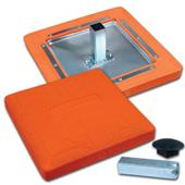 Pro Style Molded Optic Orange Safety Base B003