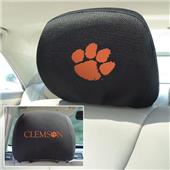 Fan Mats Clemson University Head Rest Covers