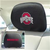 Fan Mats Ohio State University Head Rest Covers