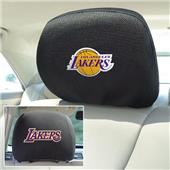 Fan Mats NBA Los Angeles Lakers Head Rest Covers