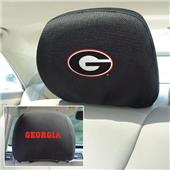 Fan Mats University of Georgia Head Rest Covers