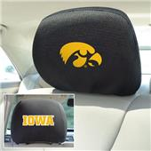 Fan Mats University of Iowa Head Rest Covers