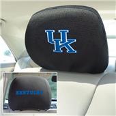 Fan Mats University of Kentucky Head Rest Covers