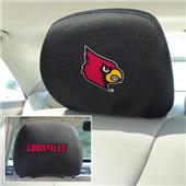 Fan Mats University of Louisville Head Rest Covers