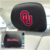 Fan Mats University of Oklahoma Head Rest Covers