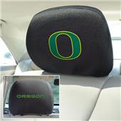 Fan Mats University of Oregon Head Rest Covers