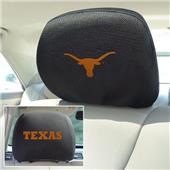 Fan Mats University of Texas Head Rest Covers