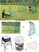 JUGS Short-Toss Baseball Package