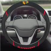 Fan Mats NHL Blackhawks Steering Wheel Covers