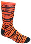 Red Lion Big Cat Athletic Zebra Crew Socks
