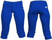 3n2 NuFIT 3/4 Knickers Softball Pant NO Belt Loops