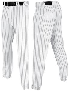 WHITE/BLACK PINSTRIPE
