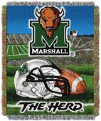 Northwest NCAA Marshall Univ HFA Tapestry Throws