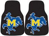 Fan Mats McNeese State Univ Carpet Car Mats (set)
