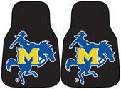 Fan Mats McNeese State Univ Carpet Car Mats (set)