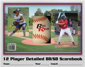 Blazer Athletic Baseball/Softball Scorebook