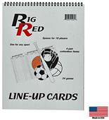 Blazer Athletic Multi-Sport Line-Up Card Book