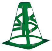 "Champro Collapsible Cones - 6"", 9"", 12"""
