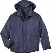 North End Mens 3-in-1 Solid Jacket