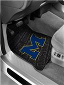 Northwest NCAA Michigan Wolverines Car Mats