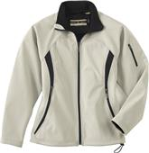 North End Ladies Performance 3-Layer Fleece Jacket