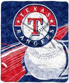 Northwest MLB Texas Rangers Sherpa Throws