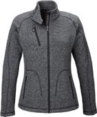 North End Sport Peak Ladies Sweater Fleece Jacket