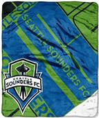 Northwest MLS Seattle Sounders Raschel Throws