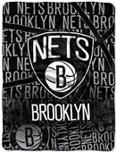 Northwest NBA Brooklyn Nets Micro Raschel Throws