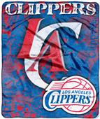 Northwest NBA Los Angeles Clippers Raschel Throws