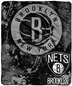 Northwest NBA Brooklyn Nets Raschel Throws