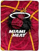 Northwest NBA Miami Heat Raschel Throws