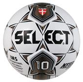 Select Numero 10 Club Soccer Ball-White/Gold