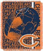 Northwest NFL Chicago Bears Jacquard Throws